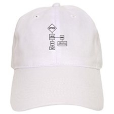 Prayer Flow Chart Baseball Cap