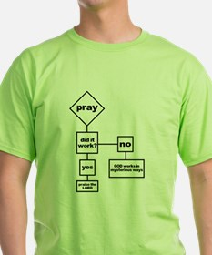 Prayer Flow Chart T-Shirt