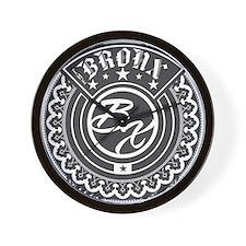 The Bronx Logo Wall Clock