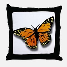 Butterfly Illusion Throw Pillow