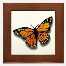 Butterfly Illusion Framed Tile