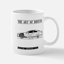 Driving Art Sedan Car Mug
