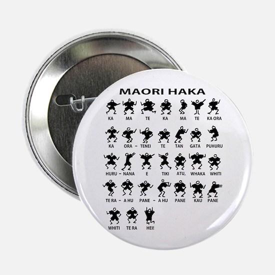 """Maori Haka 2.25"""" Button"""