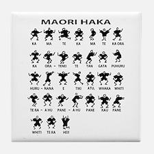 Maori Haka Tile Coaster