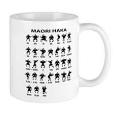 Maori Haka Small Mug