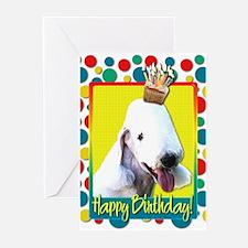 Birthday Cupcake - Bedlington Greeting Cards (Pk o