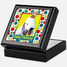 Birthday Cupcake - Bedlington Keepsake Box