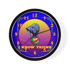 I Know Tricks Wall Clock