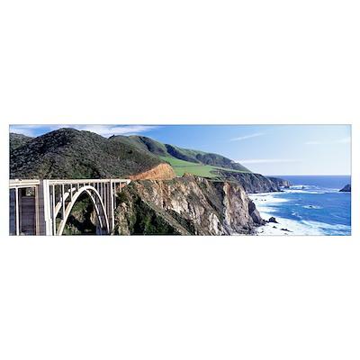 California, Big Sur, Bixby Creek Bridge Poster