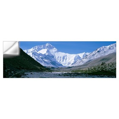 Tibet, Mount Everest Wall Decal