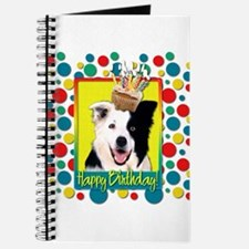 Birthday Cupcake - Border Collie Journal