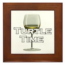 Turtle Time Framed Tile