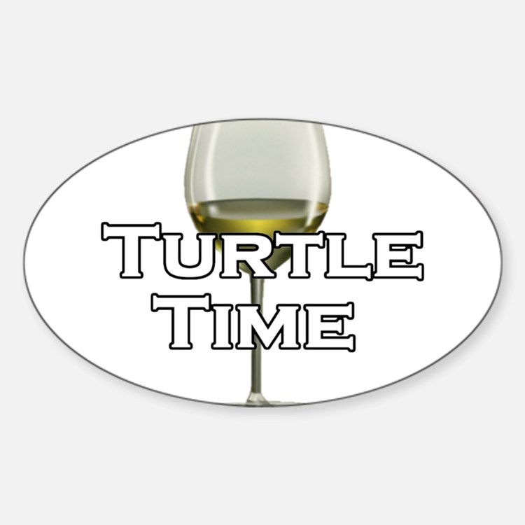 Turtle Time Decal