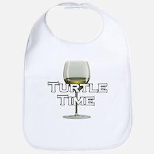 Turtle Time Bib