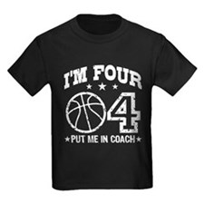 Four Year Old Basketball T