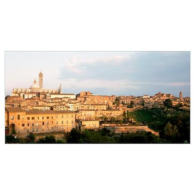 Italy, Siena Poster
