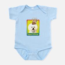 Birthday Cupcake - Bichon Infant Bodysuit