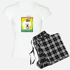Birthday Cupcake - Bichon pajamas