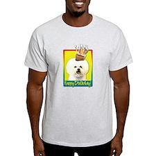 Birthday Cupcake - Bichon T-Shirt