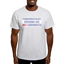 Fundamentalist Mormon Ash Grey T-Shirt