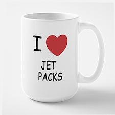 I heart jetpacks Large Mug
