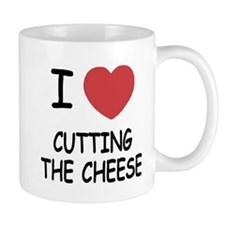 I heart cutting the cheese Mug