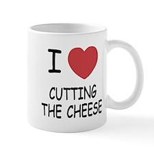 I heart cutting the cheese Mug