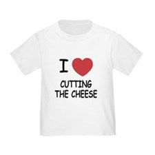 I heart cutting the cheese T
