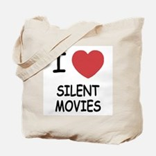 I heart silent movies Tote Bag