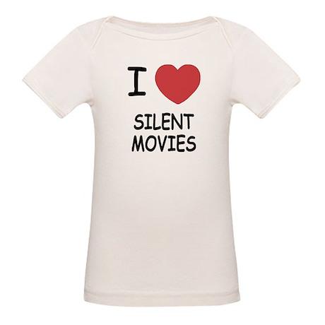 I heart silent movies Organic Baby T-Shirt