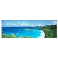Trunk Bay St John Virgin Is West Indies Poster