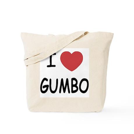 I heart gumbo Tote Bag