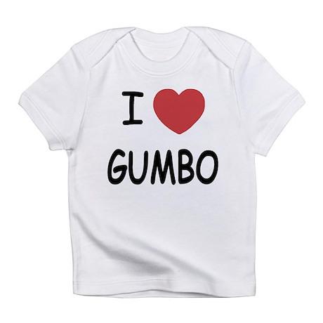 I heart gumbo Infant T-Shirt