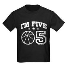 Five Year Old Basketball T