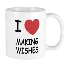 I heart making wishes Mug