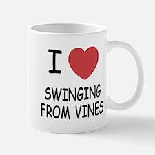 I heart swinging from vines Mug