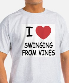 I heart swinging from vines T-Shirt
