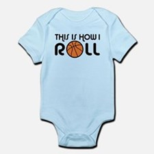 Basketball Infant Bodysuit