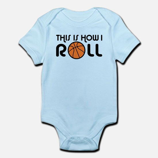 Basketball Infant Bodysuit