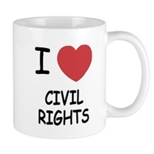 I heart civil rights Mug