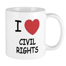 I heart civil rights Mug