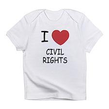 I heart civil rights Infant T-Shirt