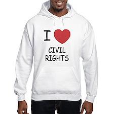 I heart civil rights Hoodie