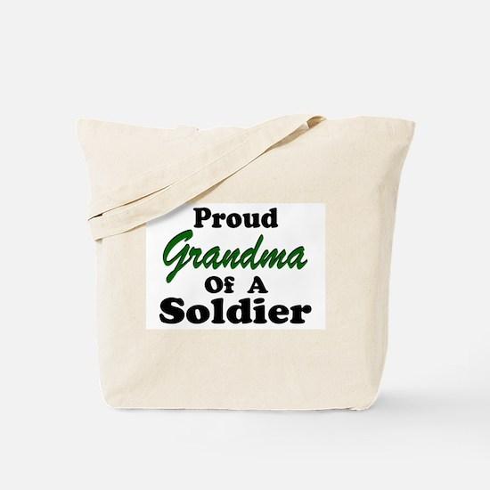 Proud Grandma of a Soldier Tote Bag