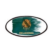 Oklahoma Flag Patches