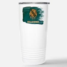 Oklahoma Flag Travel Mug