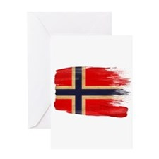 Norway Flag Greeting Card