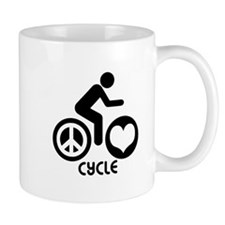 Peace Love Cycle Mug