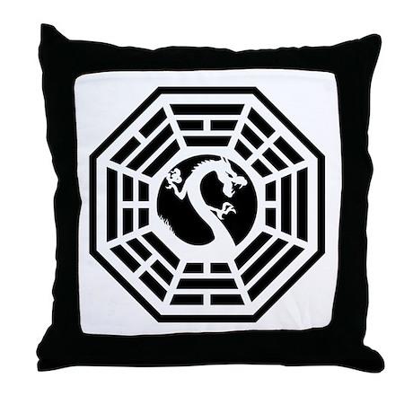 Draco Station Throw Pillow