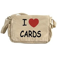 I heart cards Messenger Bag